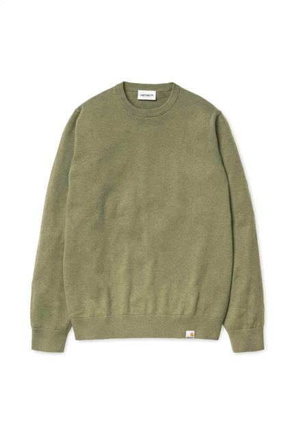 Homme Carhartt WIP Playoff Sweater (Rover Green Heather)