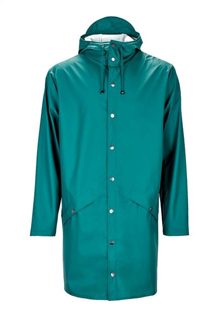 Homme Rains Long Jacket Dark Teal