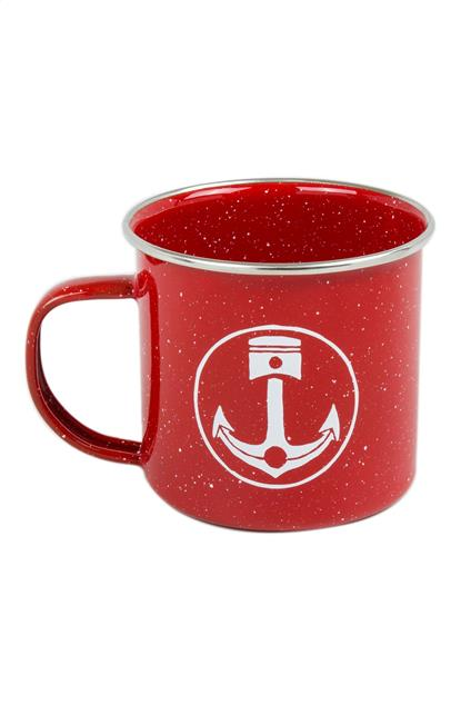 Accessoire Iron & Resin Camp Mug - red