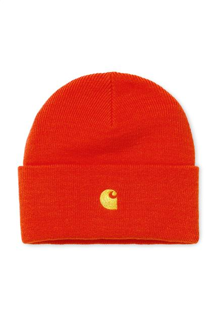Accessoire Carhartt WIP Chase Beanie - pepper/gold
