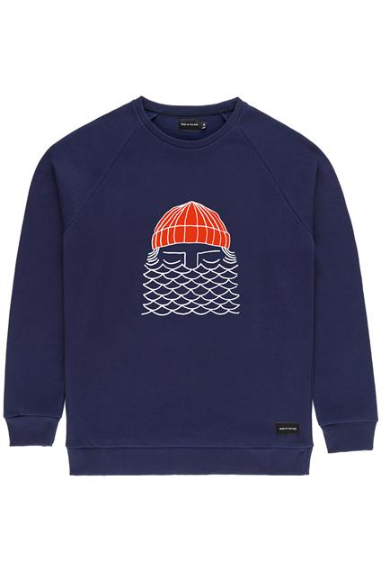 Homme Bask in the Sun Sweat To The Sea - navy
