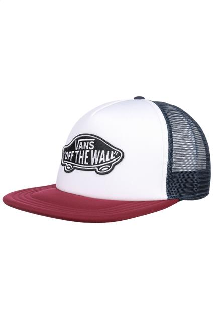 Accessoire VANS Classic Patch Trucker - white/rhumba red