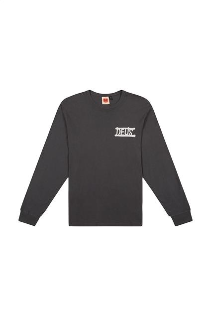 Homme Deus Ex Machina My Beach Long Sleeve Tee - washed black